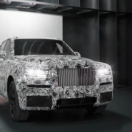 Le VUS de Rolls-Royce dévoilé