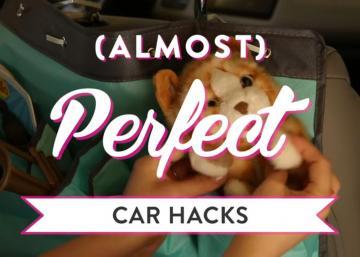Trucs pour garder votre voiture organisée avec les enfants