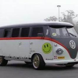 On dirait une simple Van VW, mais elle n'a rien de simple ni d'ordinaire!
