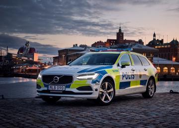 Une Volvo V90 pour la police suédoise