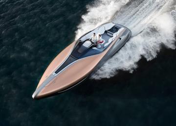 Le tout premier bateau fabriqué par Lexus