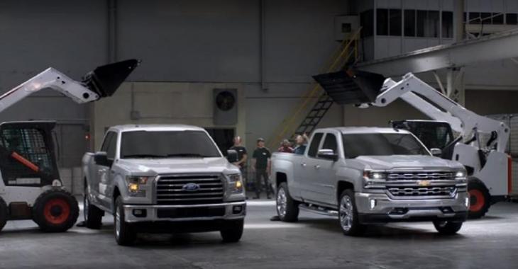Test intéressant de comparaison entre pick-up, lequel est le plus résistant au niveau de la boîte arrière?