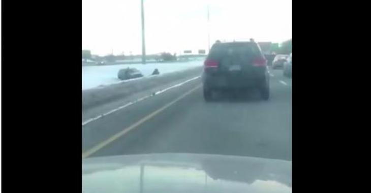 ALERTE CIRCULATION: Important ralentissement sur l'autoroute 40 après un accident
