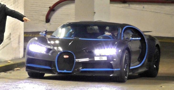 La peinture de cette Bugatti Chiron vaut le prix d'une belle maison