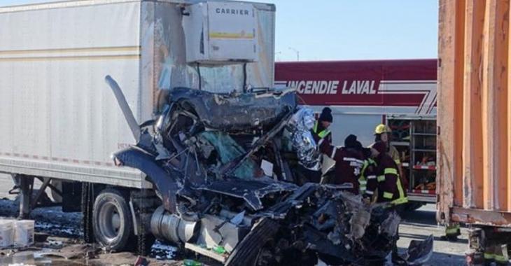 Un camionneur envoie un avertissement à toute la population du Québec!