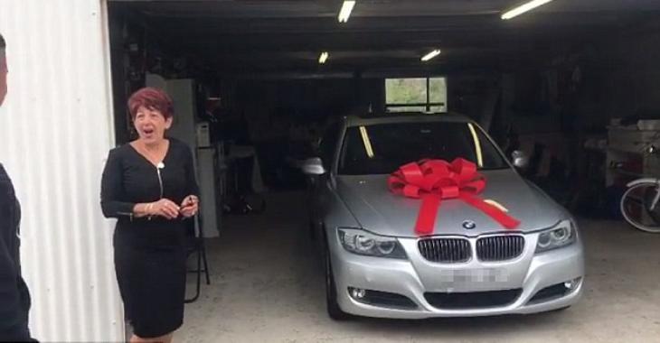 Une BMW en cadeau de Noël?