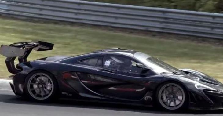 Une McLaren P1 LM légale sur la route fracasse un record sur le Nurburgring et sa performance est parfaite!