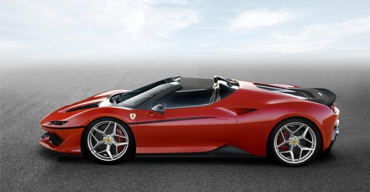 Serez-vous le propriétaire d'une des dix Ferrari J50?