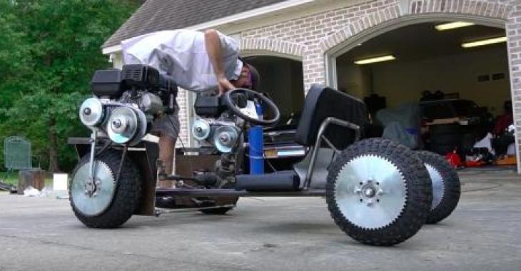 Ils se sont construit un Go Kart pas comme les autres, et il a l'air vraiment amusant à conduire!