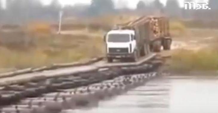Aucune mauvaise route ne peut les arrêter! Ces camionneurs n'ont peur de rien!