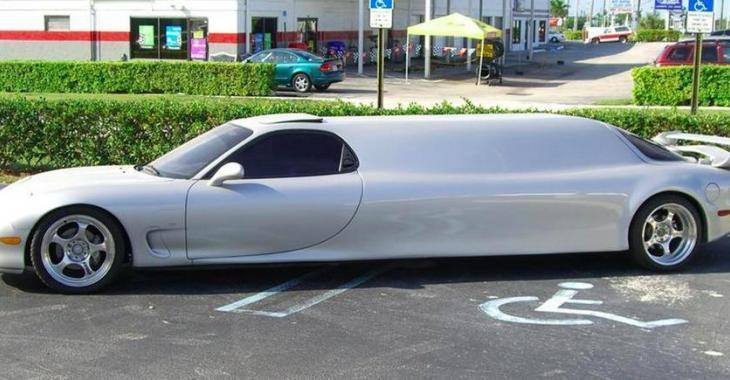 Une Mazda RX7 twin-turbo limousin aurait pu être à vous... Mais elle est déjà vendue!