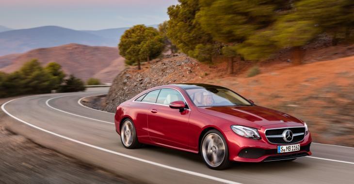 Mercedes-Benz Coupé de Classe E 2018 dévoilé