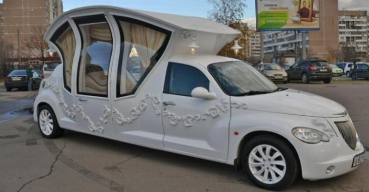 Une limousine Pt Cruiser assez...originale!!!