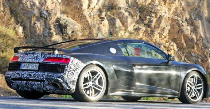 La nouvelle Audi R8 aurait été aperçue lors d'essai routier sur route; et elle promet d'être vraiment spectaculaire!