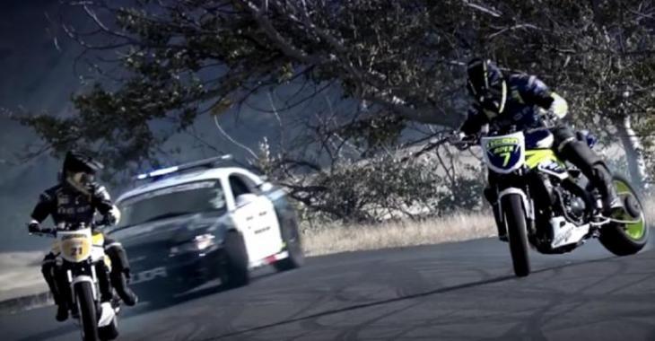 La poursuite policière la plus folle que vous ayez vu, c'est démentiel!