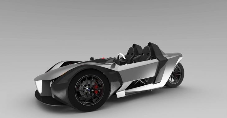 Un véhicule électrique à trois roues!