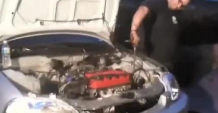 Ce mécanicien inexpérimenté change un moteur, le résultat est assez étrange!
