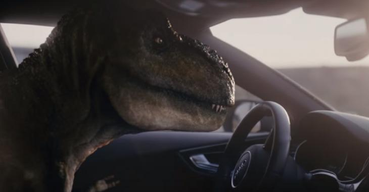 Audi présente sa nouvelle voiture T-Rex, la publicité fait fureur!
