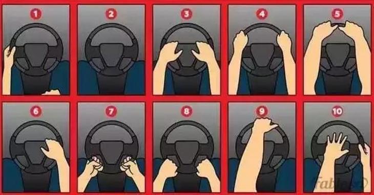 La façon que vous avez de tenir votre volant de voiture en dit long sur votre personnalité!