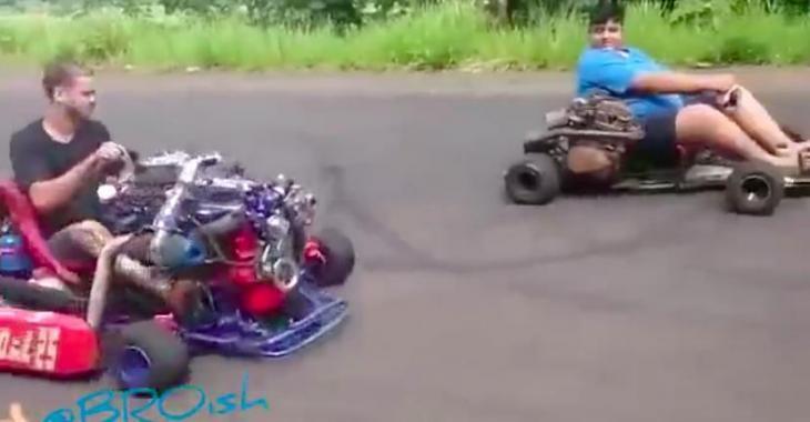 Ce Kart est hallucinant, il est d'une puissance incomparable!
