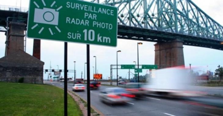 Voici l'emplacement des nouveaux photo-radars en fonction dès demain!