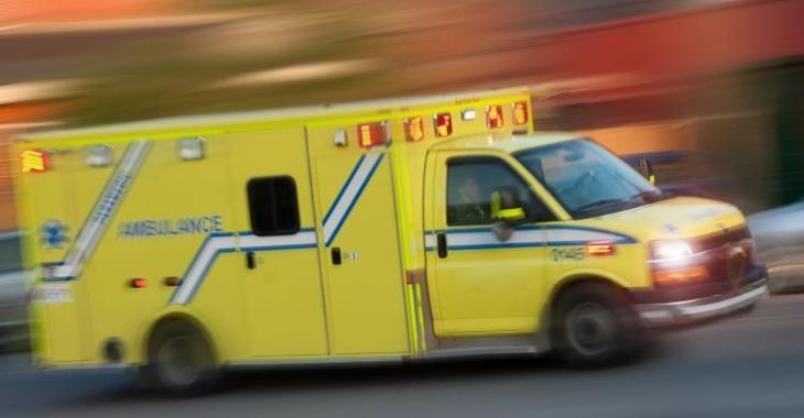 ACCIDENT | Deux blessés dans une spectaculaire collision