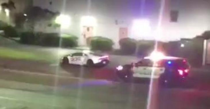 Une interception sur la route devient un cauchemar pour ce policier... Oups!