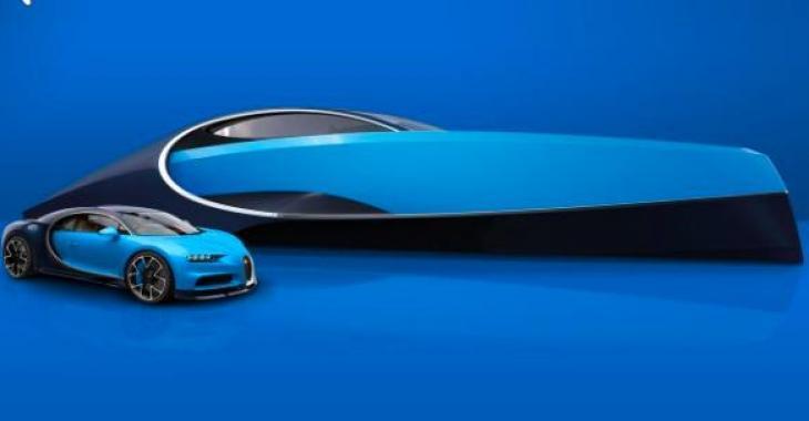 Un Yacht inspiré par la Bugatti Chiron? C'est tout simplement superbe!