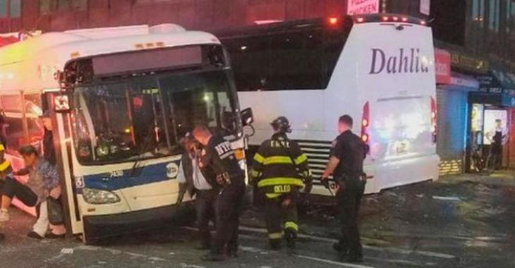Un mort et plusieurs blessés dans un grave accident impliquant deux autobus