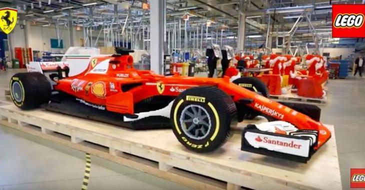 Une équipe construit une Formule 1 grandeur nature en LEGO! Elle est fabuleuse!