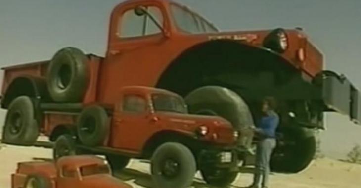 VIDÉO: Le plus gros pick-up Dodge au monde a même une maison à l'intérieur!