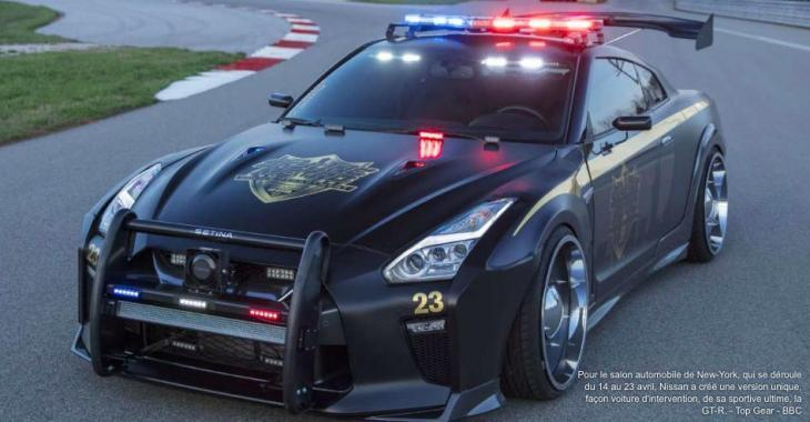 Nissan transforme son légendaire Godzilla en Copzilla... OMG!
