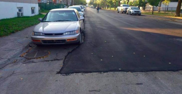 Le pavage ridicule des rues de Montréal sème la colère chez les internautes!