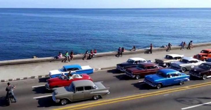Voyez les vidéo du tournage de Rapides et Dangereux 8 à Cuba, ça promet avec le paysage!