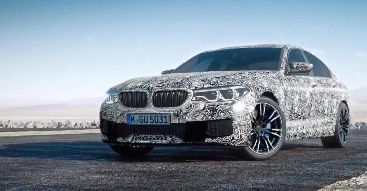 Voici la toute nouvelle BMW M5 2018; un monstre arrive!