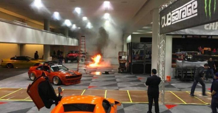 CATASTROPHE au show voitures de New-York avec une Porsche 993, ça fait mal aux yeux!