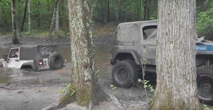 Il modifie son Jeep en insérant un moteur V8 de Lexus, le son de cette BRUTE est incroyable!