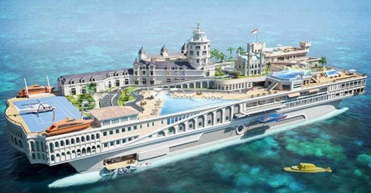 Les plus gros yachts dispendieux ayant été construits dans le monde, les derniers sont incroyables!