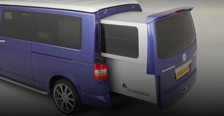 Cette minivan devient un campeur en doublant sa superficie; le concept est épatant!