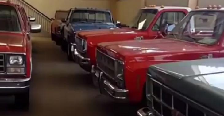La collection de vieux pick-up restaurés est complètement DÉMENTIELLE!