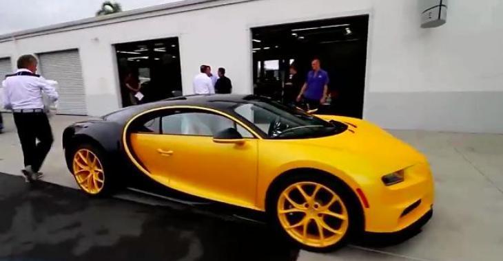 Vous avez acheté une Bugatti Chiron? Voici comment elle est livrée à votre concessionnaire! C'est complètement fou!