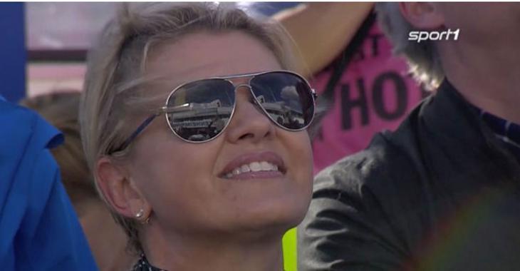 La femme de Michael Schumacher sort de l'ombre