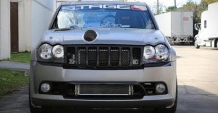 Ce Jeep SRT8 Turbo de 1300HP est un MONSTRE, incroyable comment il est performant!