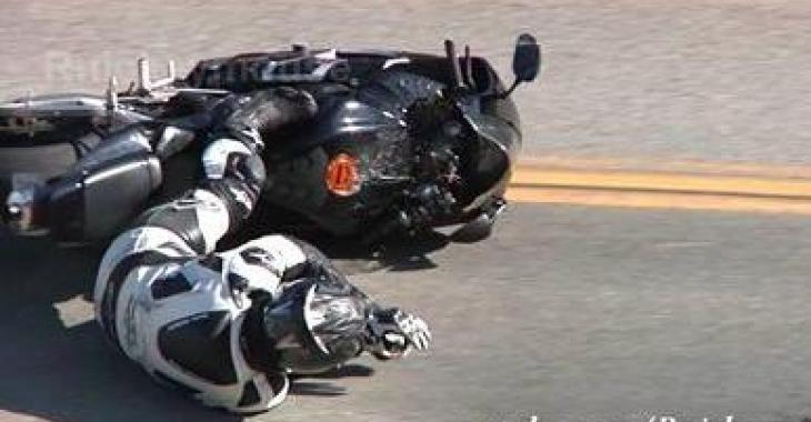 Il fait un accident de moto 4 heures après avoir acheté son bolide!