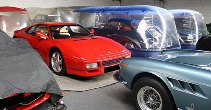 Un hangar Top Secret énorme de voitures de valeur dévoilé, attendez de voir ce qu'on y retrouve!