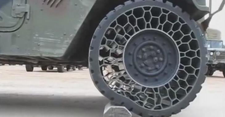Des nouveaux pneus révolutionnaires sans air, l'invention est incroyable!