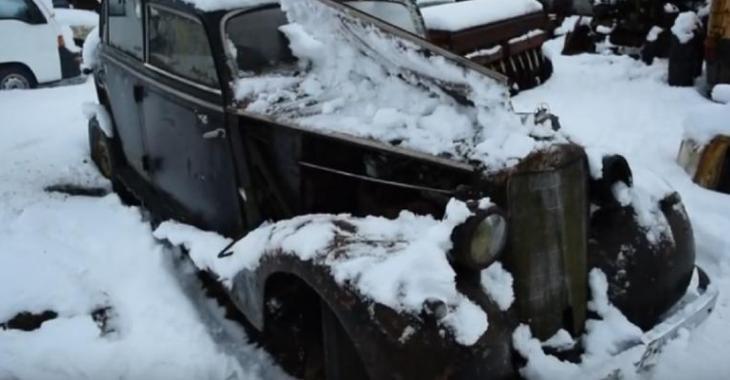 Il trouve cette vieille Mercedes 1937 et la remet en marche, c'est incroyable!