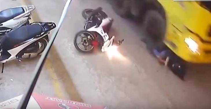 Ces accidents sont tous effrayants et très graves, et les images sont horribles!