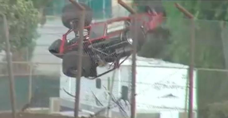 Ces images d'un accident lors d'une course donnent froid dans le dos!