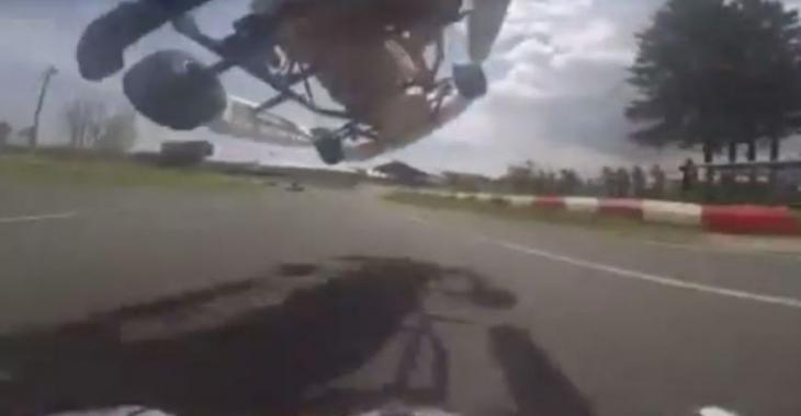 Le MEILLEUR dépassement de l'histoire en Go-Kart, vous n'allez pas y croire!